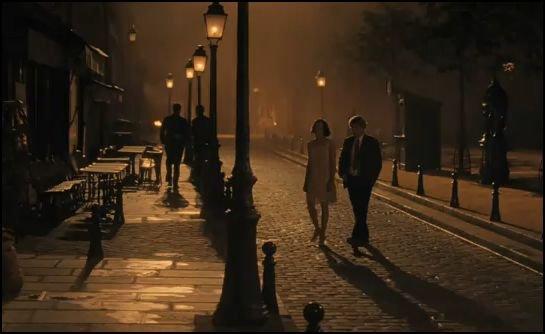 éjfékor párizsban - owen wilson és rachel mcadams
