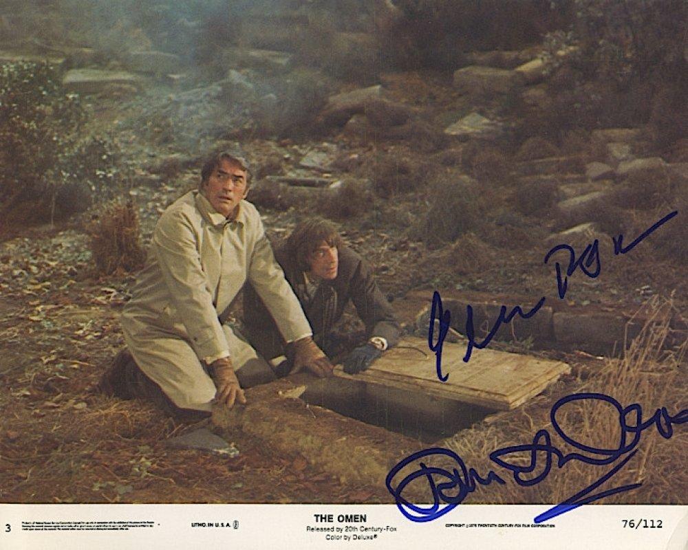 Ómen - Gregory Peck és David Warner